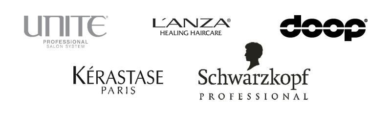 Hårvårdsrodukter som används och säljs på Klippkällan just nu. Doop, Schwarzkopft, kerastase, Lanza och den nya spännande serien från Unite som vi är väldigt glada att kunna erbjuda.